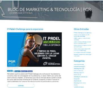 PGR Marketing-tecnología