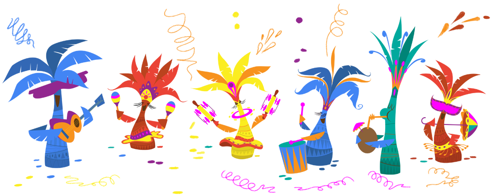 carnival doodle